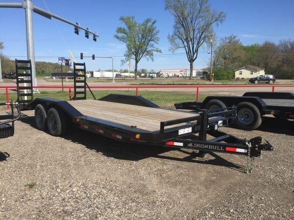 Ironbull 20′ Equipment Trailer Drive-over Fenders
