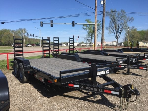 Ironbull 16′ Equipment Trailer
