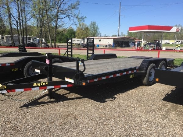 BigTex 14ET 20′ Equipment Trailer
