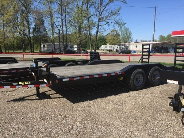 BigTex 14DF 20′ Equipment Trailer w/Drive Fenders