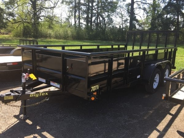 BigTex 70TV 16′ Landscape Trailer
