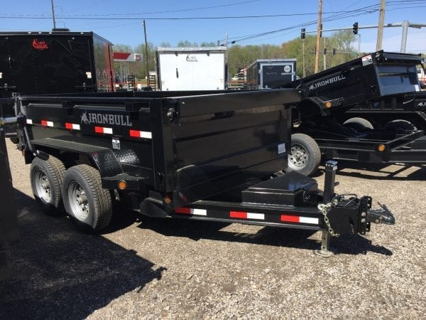 Ironbull 10′ Dump Trailer