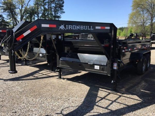 Ironbull 14′ Dump Trailer – Gooseneck