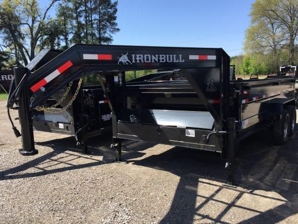 Ironbull 16′ Dump Trailer – Gooseneck