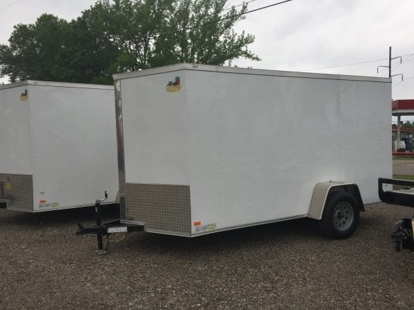 Covered Wagon Enclosed Trailer