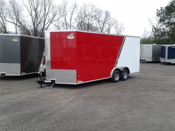 18′ Covered Wagon Enclosed