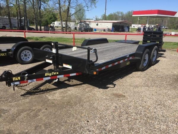 BigTex 14ET 18′ Equipment Trailer
