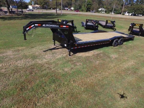 Iron Bull 30′ Equipment Gooseneck