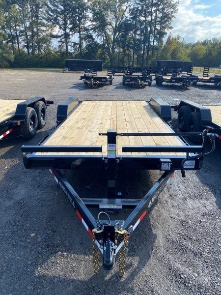 Ironbull 83″x18′ 14k Equipment Trailer