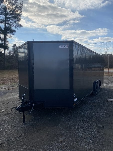 Cynergy2 8.5×22 Blackout PackageTandem Axle Enclosed Trailer Charcoal