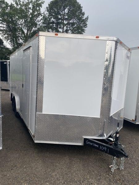 Cynergy2 8.5'x18′ Enclosed Tandem Axle Advanced White