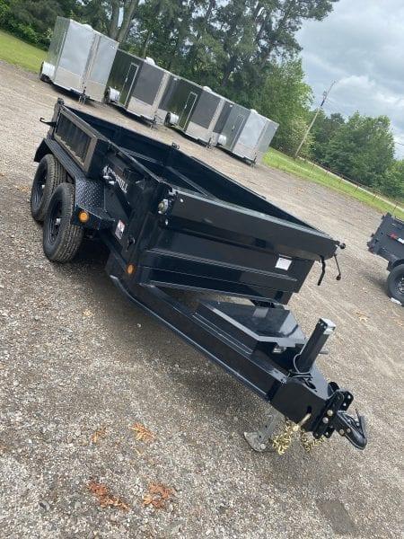 Ironbull 60″x10′ Dump Trailer 3,500lb axles