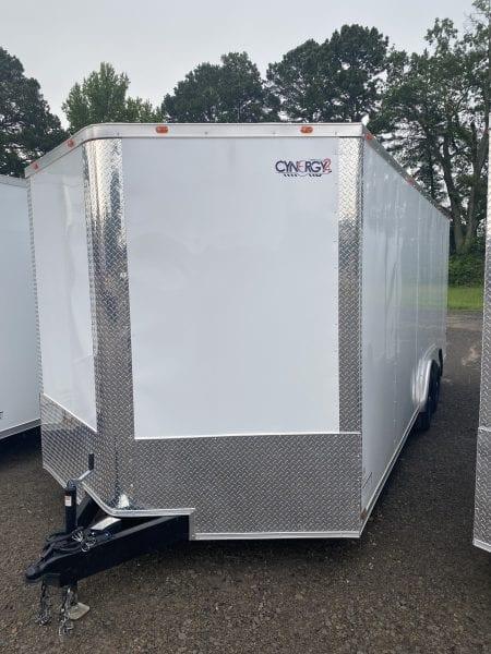 Cynergy2 8.5'x20′ Enclosed Advanced Tandem 5,200lb axles White