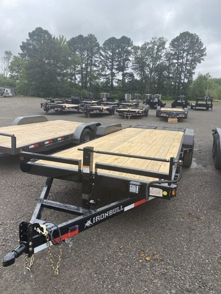 Ironbull ETB 83″x22′ Equipment Trailer 7k axles w/ Rampage Ramps