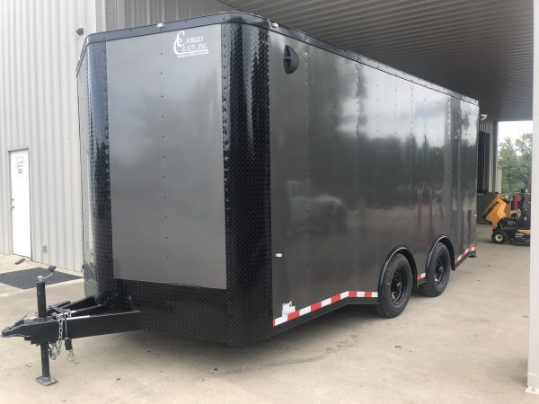Cargo Craft 8.5X18 Tandem Axel Enclosed Trailer