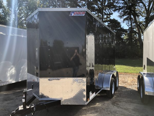 Pace 6X12 Tandem Axel Enclosed Trailer
