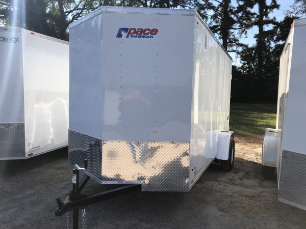Pace 6X12 Single Axel Enclosed