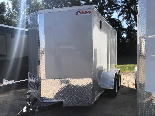 Pace 6X12 Tandem Axel Enclosed