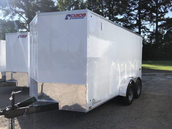 Pace 7X14 Tandem Axel Enclosed