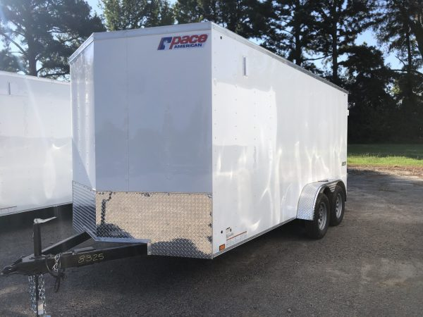 Pace 7X16 Tandem Axel Enclosed